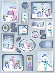 Christmas Toppers For Card Making.Craftee Christmas Toppers Card Making Supplies And Craft
